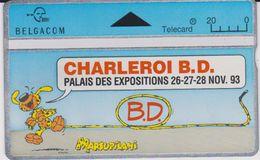 Télécarte -carte :  Bandes Déssinée Marsupilani  Palais Expo A Charleroi - Non Classés