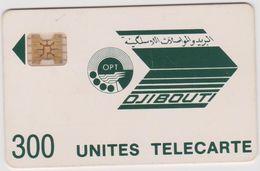 Télécarte -carte :  Djibouti  300  Units - Djibouti