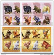 Madagascar 2001. Michel #2550/61 A+B MNH/Luxe. Bears-Monkeys. (TS12) - Madagaskar (1960-...)