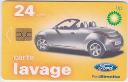 Télécarte -carte :  Lavage BP , Voiture Automobile - Frankrijk