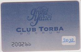 Télécarte -carte : Club  Torba , Bodrum  ( Ersoy Touristic  Services ) - Frankreich