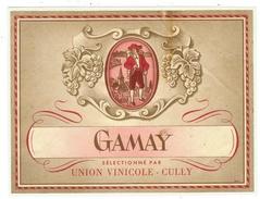 Rare // Gamay ,Union Vinicole Cully, Vaud // Suisse - Etiquettes