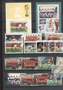 Soccer - Football 2 Stamps + 2 S/Ss  MNH - Soccer