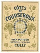 Rare // Côtes De Courseboux 1961, Jean Potterat  Cully, Vaud // Suisse - Galli