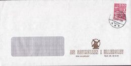 Denmark SAVMØLLEN I ULLERSLEV Mill Mühle Moulin Molen Cachet ULLERSLEV 1983 Cover Brief Measuring & Weight Scales Stamp - Briefe U. Dokumente