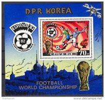 NORTH KOREA, SOCCER SHEETLET 1982 NH - Corée Du Nord