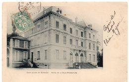 Haute-Savoie - SAINT-JULIEN-EN-GENEVOIS - Hôtel De La Sous-Préfecture - Dos Simple - Saint-Julien-en-Genevois