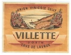 Rare // Villette Dorin, Cave De Lavaux, Union Vinicole De Cully, Vaud // Suisse - Etiquettes