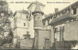 Millery Entree Du Chateau Descours - Autres Communes