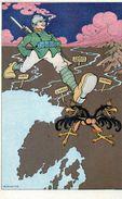 3° ARMATA - OMAGGIO DELLE OFFICINE RICORDI - Illustratore RUBINO  - NON VIAGGIATA - War 1914-18