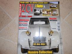 2CV SPECIAL ANNIVERSAIRE 1948 - 2008 -  NUMERO COLLECTION - - Auto