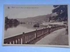 Réf: 99-3-281.       NAMUR    Vue De La Meuse Et Du Boulevard Isabelle Brunelle  ( Brunâtre ) - Namur