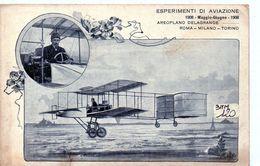 AEROPLANO DELAGRANDE 1908  - NON VIAGGIATA - ....-1914: Precursors