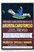 STABILIMENTO BACOLOGICO - ANONIMA CARLO TONELLO - TREVISO - NON VIAGGIATA - Advertising