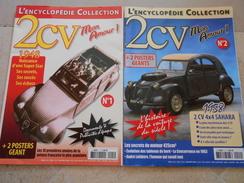 L'encyclopédie Collection -  2 N° 2CV Mon Amour - - Auto/Moto