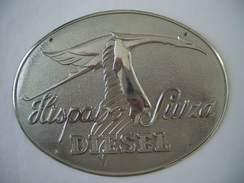 Plaque Métal Hispano Suiza - Cars