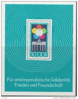 OOST-DUITSLAND MI.NR.BLOCK 38  MNH / POSTFRIS / NEUF SANS CHARNIERE 1973 - Blokken