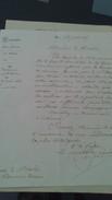 Acte Notarié Préfecture Du Lot Et Garonne - Objet : Ancien Miliaire ......................de LAULHE Léo Martin - Manuscripts