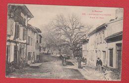 Sainte Croix Volvestre  / Place Du Pont - France