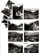 Dép. 06. - Excursion Intervallée - Photos L. Gilleta & Cie, Nice. 12 Photographies Dans Leur Enveloppes. - Places