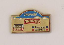 1 Pin's RALLYE CROSS - TROPHEE ANDROS - Rallye