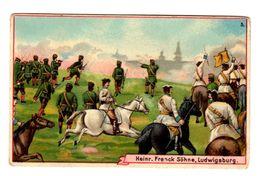 Chromo Franck, Allemagne, Deutschland, Ludwigsburg, Soldaten, Militär, Krieg, Soldats, Militaire, Guerre, - Cromos