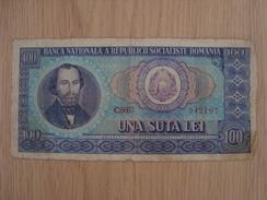 BILLET ROUMANIE UNA SUTA LEI - Romania