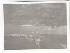 WW2 PHOTO ORIGINALE ALLEMANDE Pont Suspendu De LANGEAIS Ko INDRE ET LOIRE 1940 Près Chinon Entre Tours Et Saumur - 1939-45