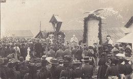 Foto Gottesdienst Feldmesse Feldgeistlicher K.u.K. Österreich Ungarn Friedhof Deutsche Soldaten 1.Weltkrieg - Guerra, Militari