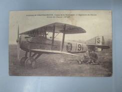 """CPA AVIATION DE CHATEAUROUX 36 AVION DE CHASSE """"SPAD"""" - 1914-1918: 1ère Guerre"""
