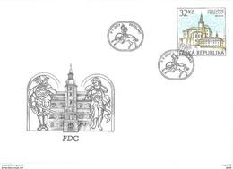 Tchequie 2017 FDC EUROPA 2017 Chateau De Frydlant - FDC