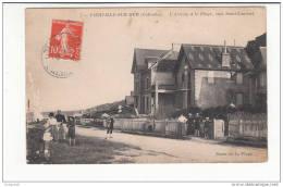 14 - Vierville-sur-mer - Arrivee A La Plage Vers St-laurent ETAT - France