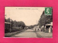 92 HAUTS DE SEINE, CHATENAY-MALABRY, Avenue Du Bois, Animée, (L. Baslé) - Chatenay Malabry