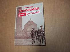 Zonnebeke / ZONNEBEKE Bezet En Bevrijd - Libros, Revistas, Cómics