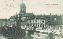 ARAD - Biserica Minorittilor, Gel.1924?, 3 Fach Frankiert - Rumänien