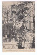 Trois Cartes Postales Mi Carême 1908. Paris. Char De La Dentelle, De La Reine Des Reines, Alliance Latine. (1837) - Holidays & Celebrations