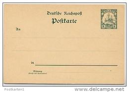 MARIANEN  P 7  Postkarte  ** 1900   Kat. 6,50 € - Kolonie: Marianen