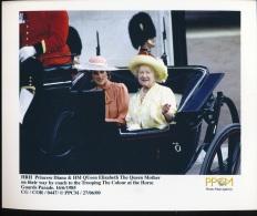 HRH Princess Diana & HM Queen Elizabeth The Queen Mother -- 16/6/1985 - Personnes Identifiées
