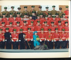 La Reine Mere A La Parade De La St Patrick  --17/03/97 - Personnes Identifiées
