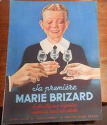 Publicité Marie Brizard. 1934. - Reclame