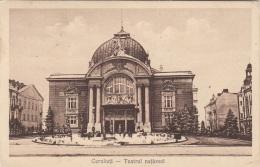 CERNAUTI - Teatrul National, Gel.1924, 3 Fach Frankierung - Rumänien