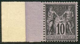 France N° 89 Neuf ** (MNH) Centra.Parfait - Signé A.Brun  Cote 120 Euros LUXE - 1876-1878 Sage (Type I)