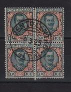 1923 Floreale 2 L. Quartina Ottima Centratura +++ - Usati