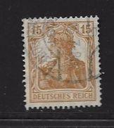ALLEMAGNE-EMPIRE 1916/19  YVERT N°99 OBLITERE - Usati