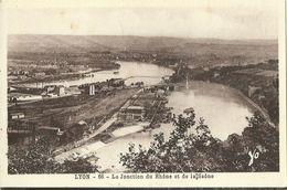Lyon La Jonction Du Rhone Et De La Saone - Altri