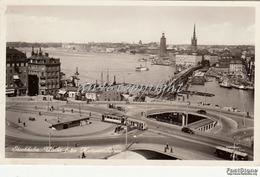 STOCKHOLM_Utsikt Fran Kafarinahissern_Vg Il _ Originale 100%-2 Scann - Svezia
