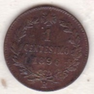 ITALIE. 1 CENTESIMO 1896 R (ROMA). UMBERTO I - 1861-1946 : Regno
