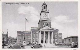 New Hampshire Dover Municipal Building 1954 - Dover