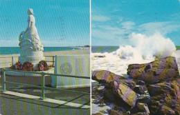 New Hampshire Hampton Beach Marine Memorial 1964 - Dover