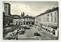 REGGIO EMILIA - PIAZZA PRAMPOLINI E MUNICIPIO VIAGGIATA  FG - Reggio Nell'Emilia